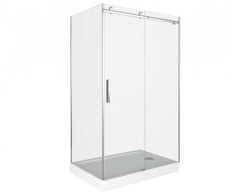 Душевой уголок GOOD DOOR GALAXY WTW-120-C-CH+SP-90 -C-CH